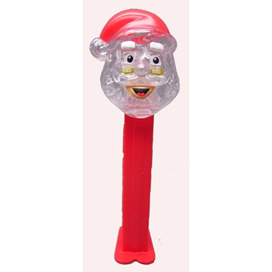 Crystal Santa PEZ Dispenser