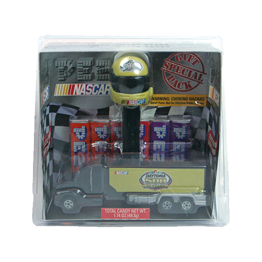 Daytona 500 Helmet & Truck PEZ Dispenser