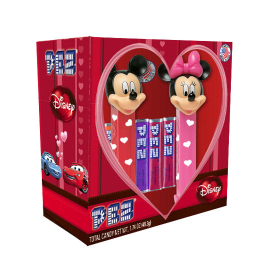 Disney Couples Mickey & Minnie Gift Set PEZ Dispenser