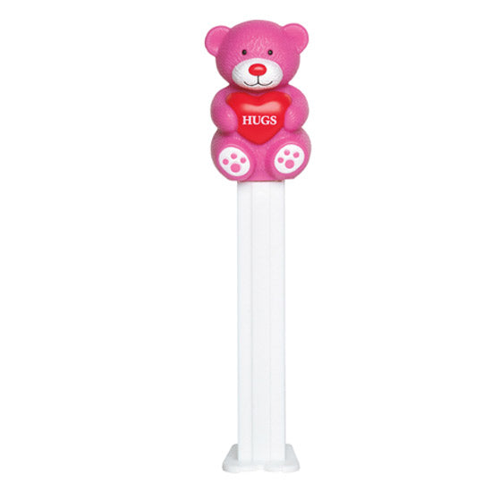Pink Hugs Bear PEZ Dispenser