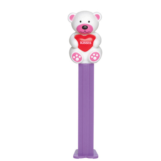 White Kisses Bear PEZ Dispenser