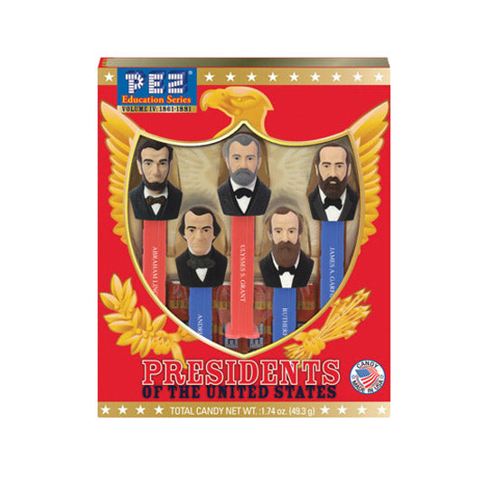 Presidents of the United States Vol. 4 PEZ Dispenser