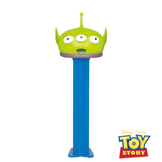 Green Alien PEZ Dispenser