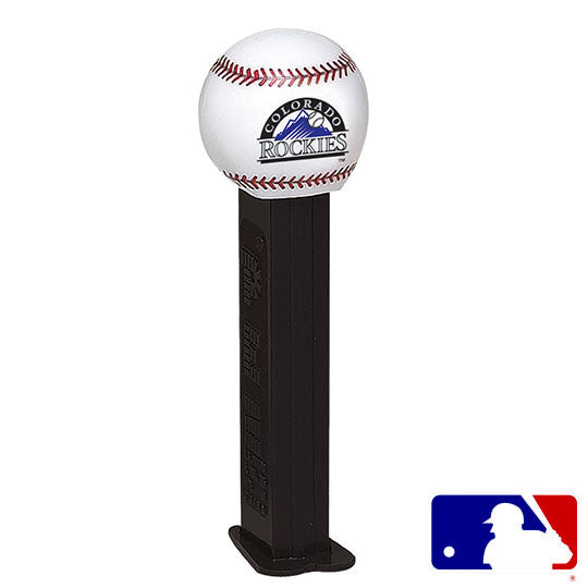 Colorado Rockies Baseball PEZ Dispenser
