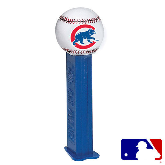 Chicago Cubs Classic Baseball PEZ Dispenser