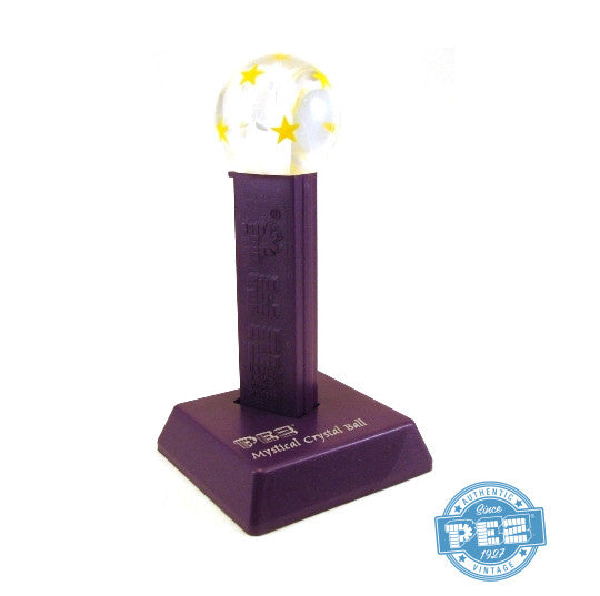 Crystal Ball with Yellow Stars PEZ Dispenser