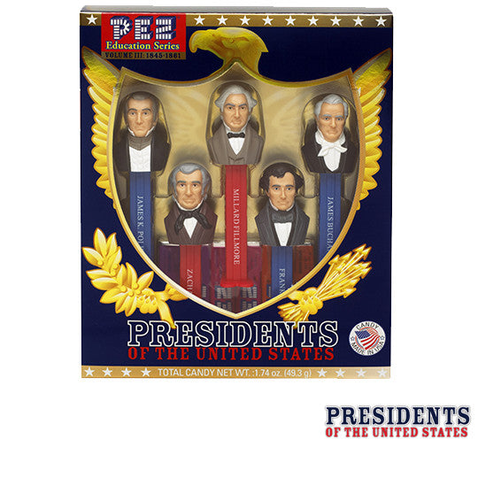Presidents of the United States Vol. 3 PEZ