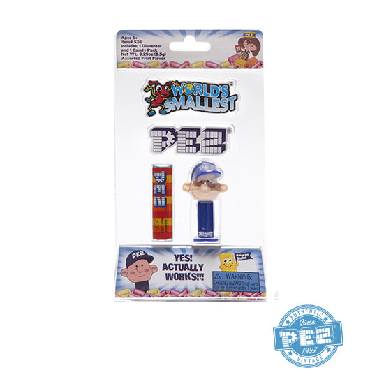 World's Smallest PEZ Boy PEZ Dispenser