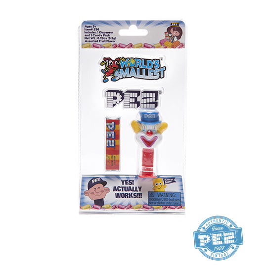 World's Smallest PEZ Clown PEZ Dispenser