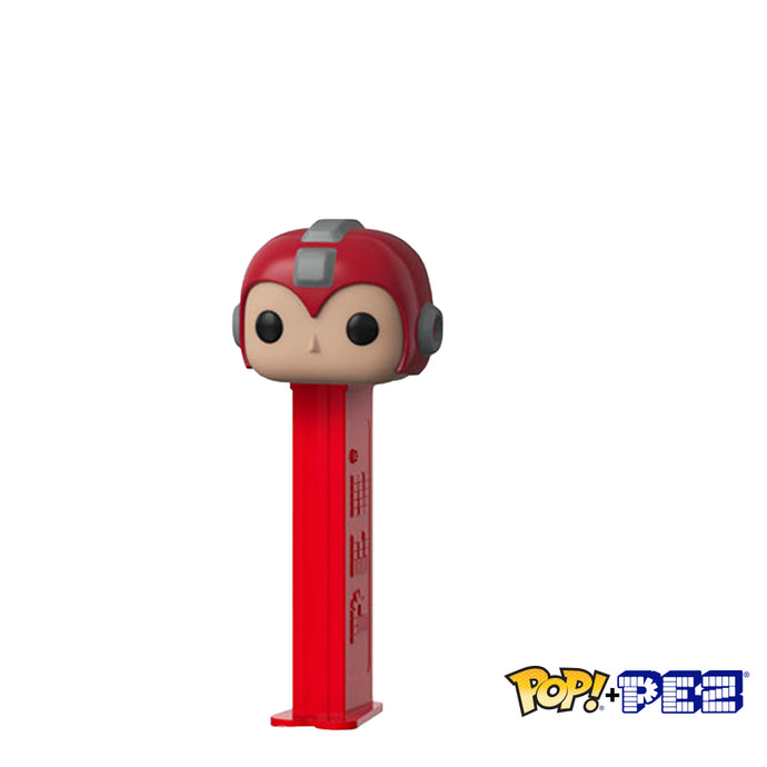 Mega Man Red - Funko POP+PEZ
