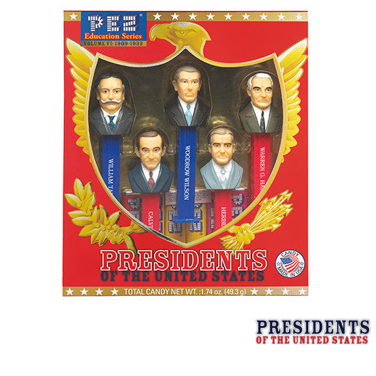 Presidents of the United States Vol. 6 PEZ