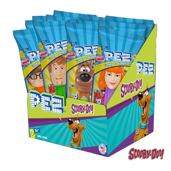 Scooby-Doo PEZ - 12 count Party Pack