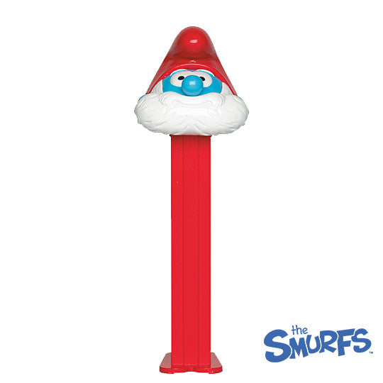 Papa Smurf PEZ Dispenser