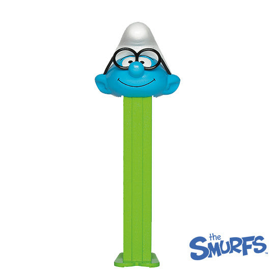 Brainy Smurf PEZ Dispenser