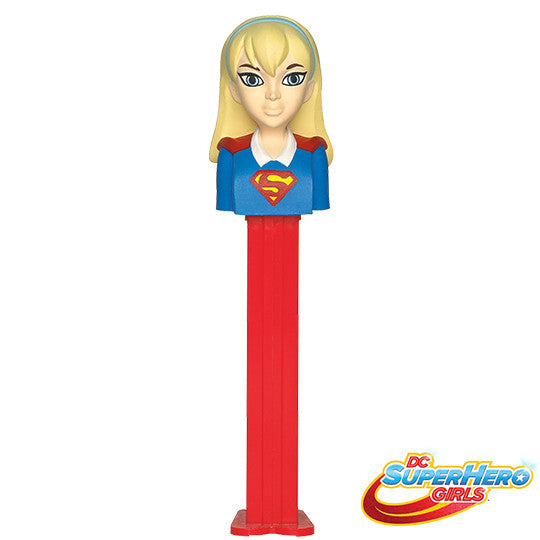 DC Girls Supergirl PEZ Dispenser