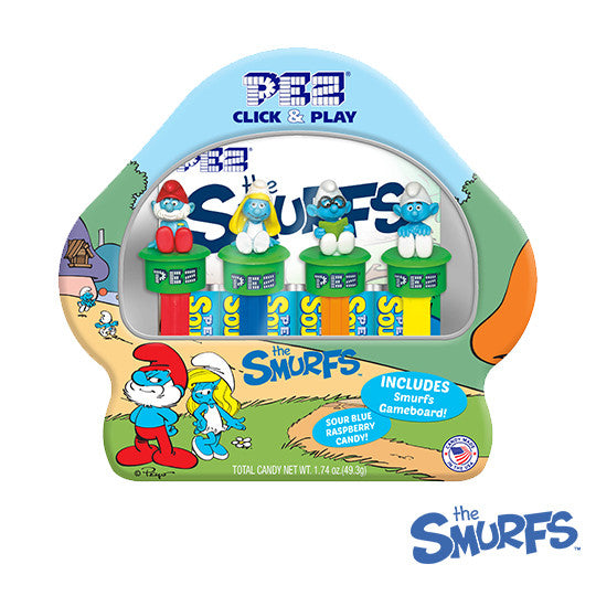 Smurfs Gift Set PEZ Dispenser