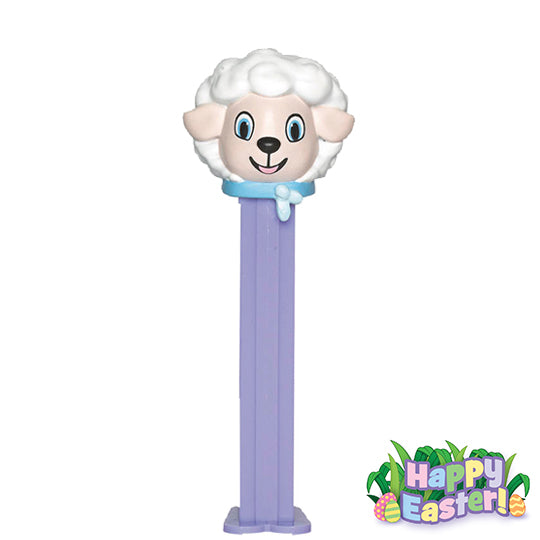 Pez White//Purple Easter Bunny Candy Dispenser