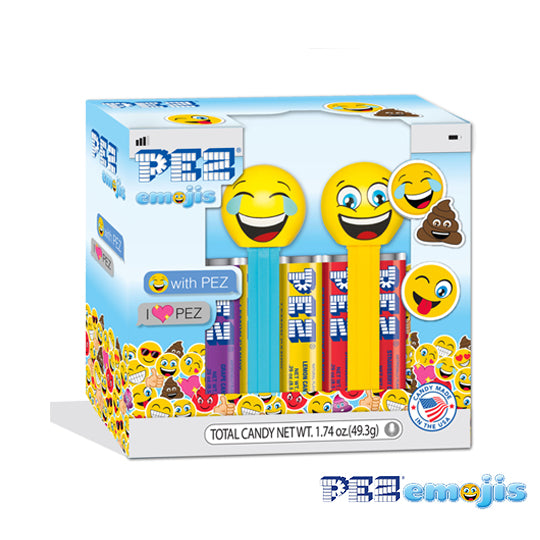 PEZemojis Twin Pack (Smiling & LOLing)