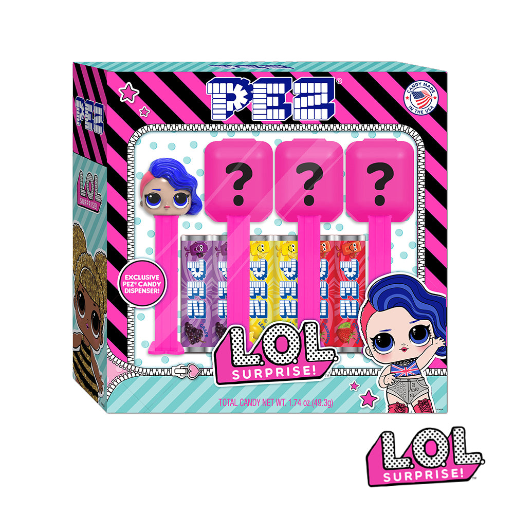L.O.L. Surprise PEZ Gift Set