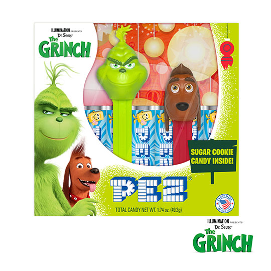 The Grinch Gift Set (Grinch & Mini Max)