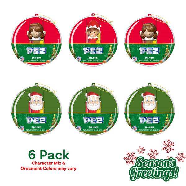 Christmas Ornaments 6pk