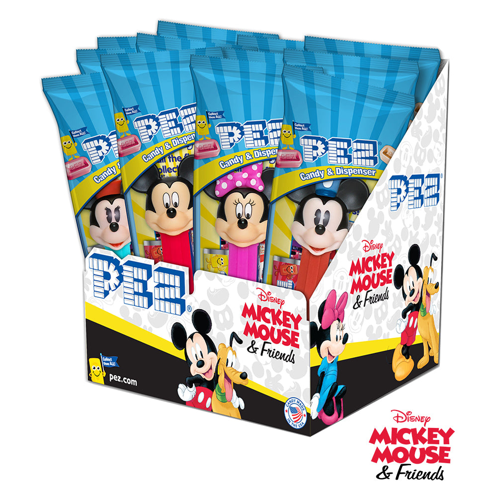 Disney Mickey & Friends PEZ - 12 count Party Pack