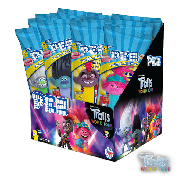 Dreamworks Trolls World Tour PEZ - 12 count Party Pack