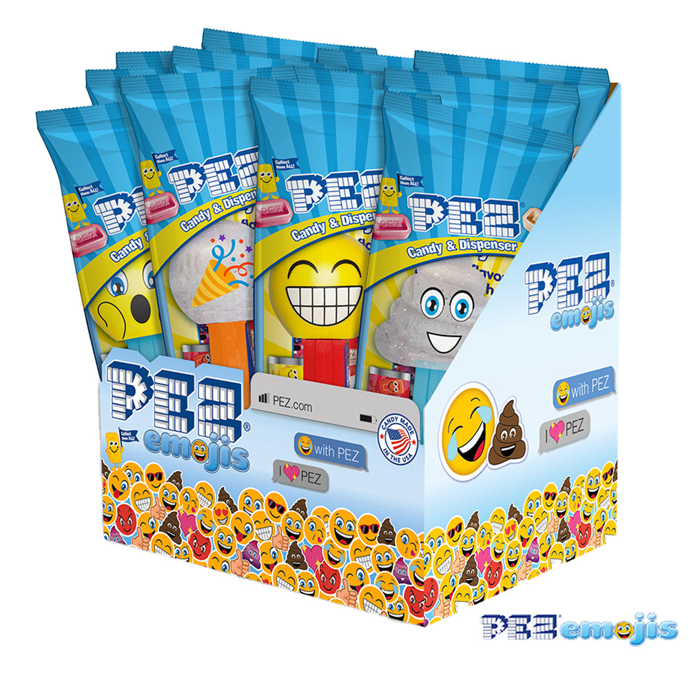 PEZemojis - 12 count Party Pack
