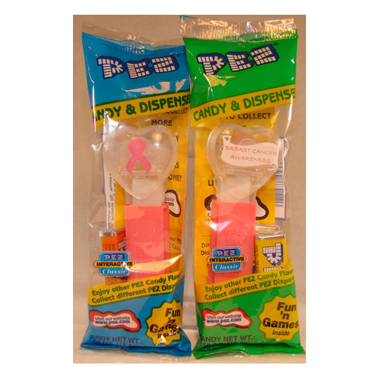 Breast Cancer Awareness PEZ Dispenser