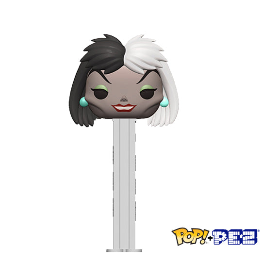 Disney Villains - Cruella de Vil - Funko POP+PEZ