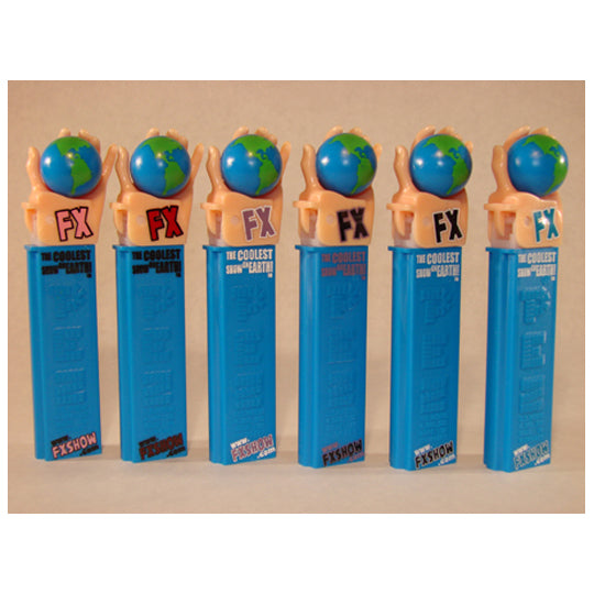 FX Toy Show Promo PEZ Dispenser