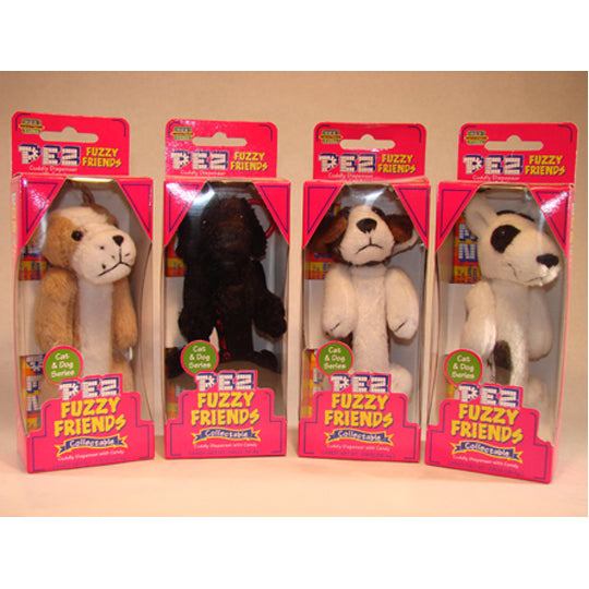 Fuzzy Friends Dogs PEZ Dispenser