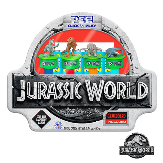 Jurassic World Click and Play Gift Tin