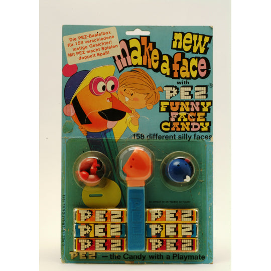 Make A Face on Card PEZ Dispenser