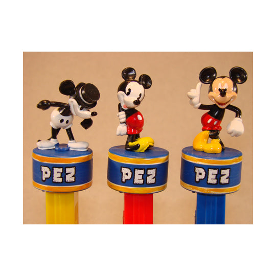 Mickey 80th Anniversary Gift Tin PEZ Dispenser
