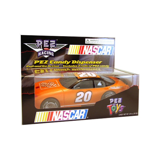 Nascar Pull & Go #20 PEZ Dispenser