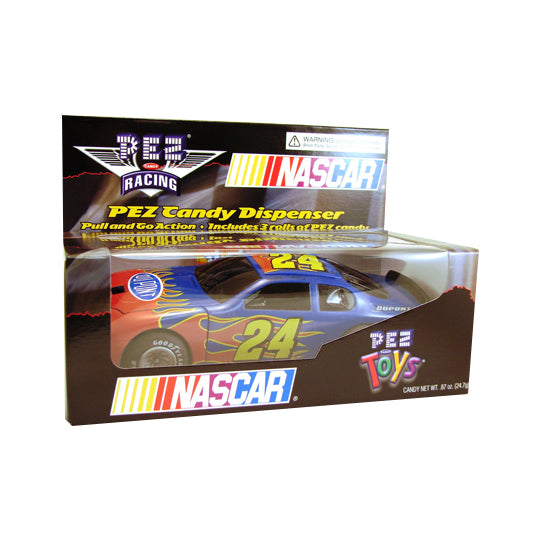 Nascar Pull & Go #24 PEZ Dispenser
