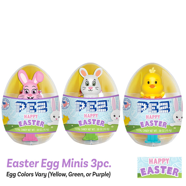 PEZ Mini Easter Eggs (3 pcs.)