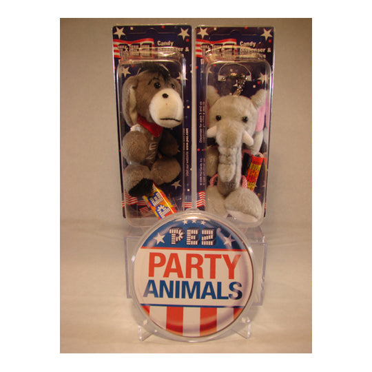 Party Animals Plush PEZ Dispensers