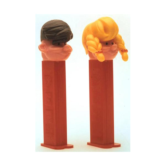 Boy and Girl PEZ Pals PEZ Dispenser