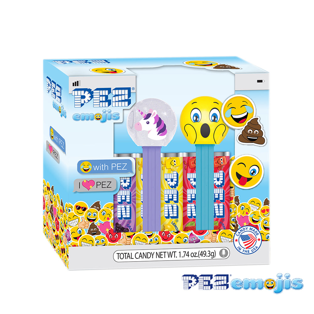 PEZemojis Gift Set (Unicorn & Surprised)