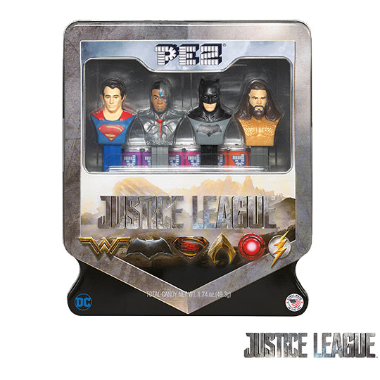 Justice League PEZ Gift Tin