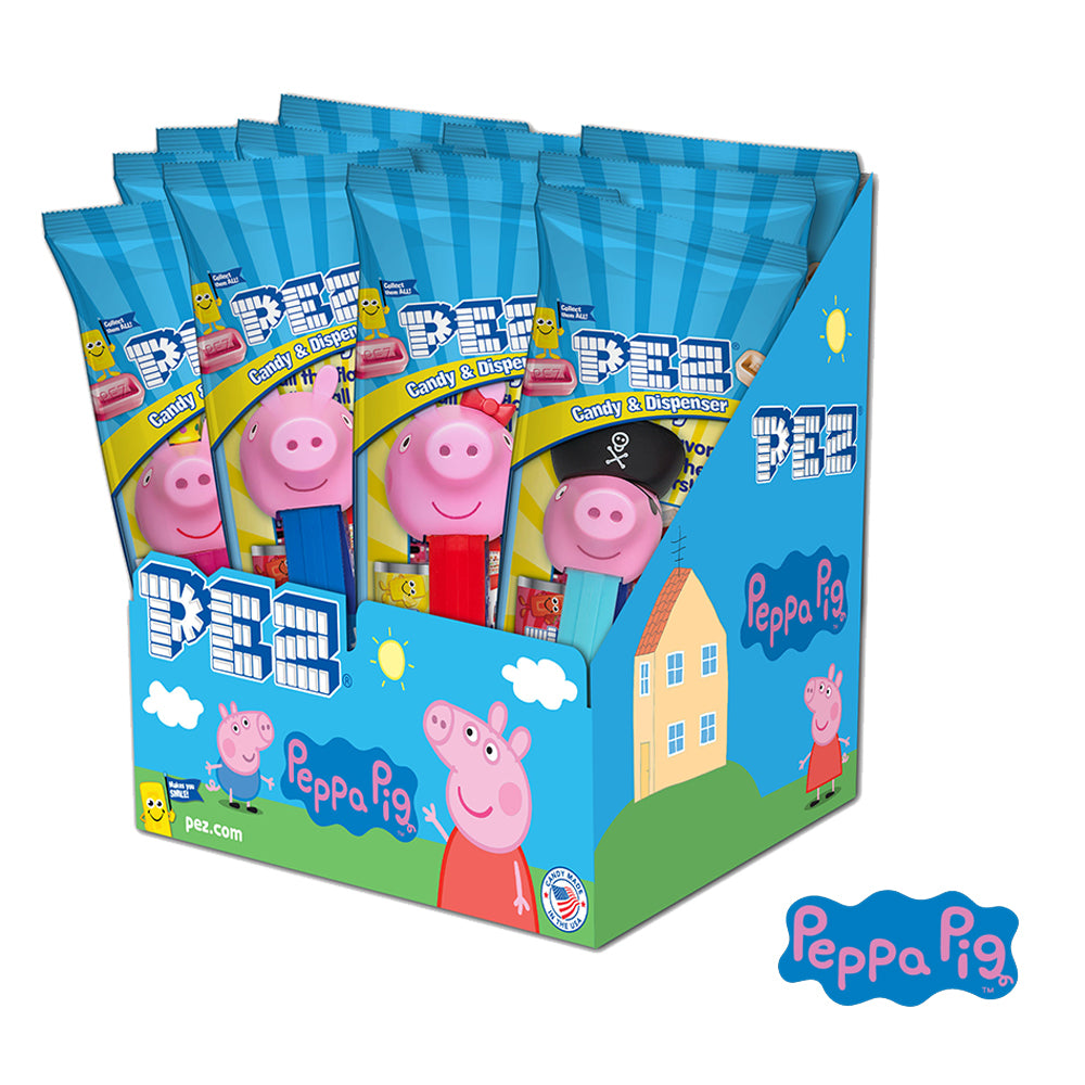 Peppa Pig PEZ - 12 count Party Pack