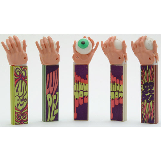 Psychedelic Hands PEZ Dispensers
