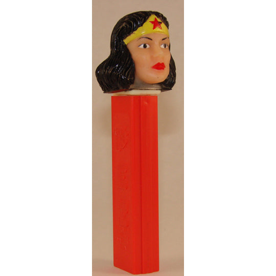 Soft Head Wonder Woman PEZ Dispenser