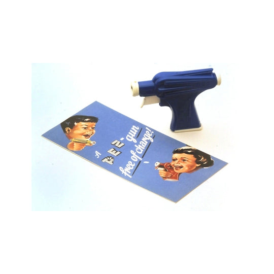 Space Gun PEZ Dispenser & Premium Folder