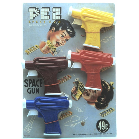 Space Guns PEZ Dispensers