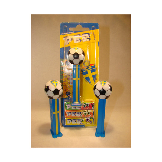 Sweden Soccer Ball PEZ Dispenser