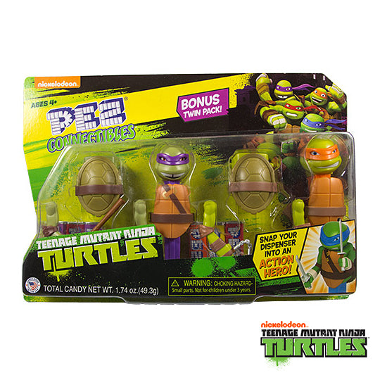 TMNT Connectible Twin Pack (Donatello & Michelangelo)