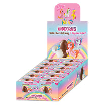 Zaini Milk Chocolate Egg & Unicorn Surprise - 12 ct. Party Pack